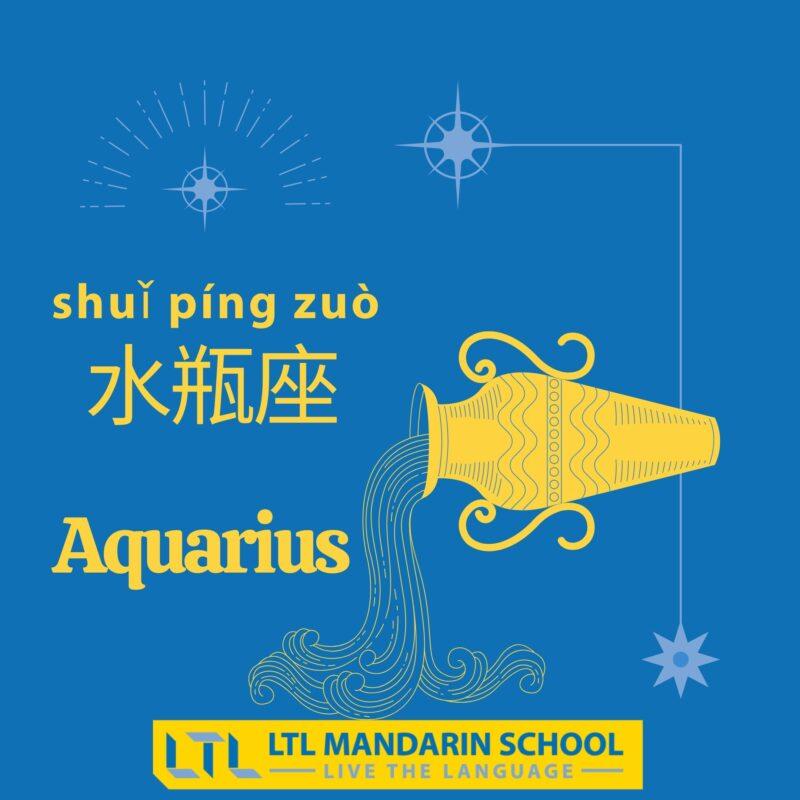 Aquarius in Chinese