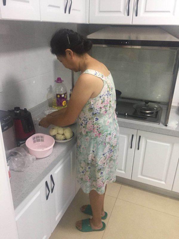 Homestay Mum Cooking Dinner