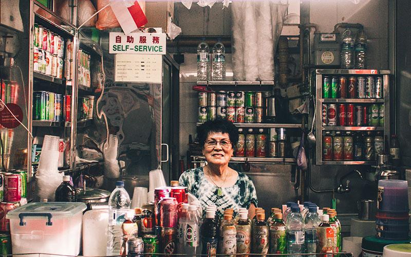Hawker Shop Owner
